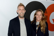 Philip Crangi and wife Courtney Crangi attend the GQ & Gap event to celebrate 2013 Best New Menswear Designers Collaboration on September 23, 2013 in New York City.