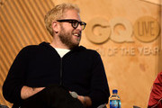 Jonah Hill speaks onstage at GQ Live - The World Of Jonah Hill With The Cast Of 'Mid90s' at NeueHouse Los Angeles on December 07, 2018 in Hollywood, California.