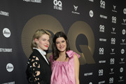 Pola Fendel and Marie Nasemann attend the GQ Style Night during Berlin Fashion Week Autumn/Winter 2020 at BRICKS Berlin on January 15, 2020 in Berlin, Germany.