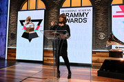 Gayle King attends the GRAMMY Nominations Press Conference at CBS Studios on November 20, 2019 in New York City.