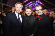 (L-R)  British Consul General Michael Howells, Andy Serkis, and Gary Oldman attend the Great British Film Reception honoring the British nominees of The 90th Annual Academy Awards on March 2, 2018 in Los Angeles, California.