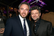 British Consul General Michael Howells and actor Andy Serkis  attend the Great British Film Reception honoring the British nominees of The 90th Annual Academy Awards on March 2, 2018 in Los Angeles, California.