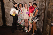 Alexa Demie, Kota Eberhardt, Sydney Sweeney, Bella Heathcote and Kiersey Clemons at Barboza on August 14, 2019 in Seattle, Washington.