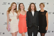 (L-R) Actors Louisa Krause, Emily Meade, Rory Culkin and Alexia Rasmussen attend the 'Gabriel' Premiere during the 2014 Tribeca Film Festival at the SVA Theater on April 17, 2014 in New York City.
