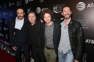 Gabriel Ripstein Tim Roth Honored at the 13th Annual Morelia International Film Festival
