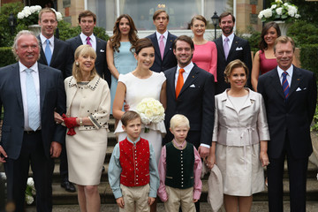 Gabriele Lademacher Prince Felix and Claire Lademacher Tie the Knot