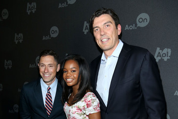 Gabrielle Douglas Celebs Attend AOL's Digital Content Event