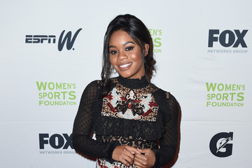 Gabrielle Douglas The Women's Sports Foundation's 38th Annual Salute to Women in Sports Awards Gala  - Arrivals
