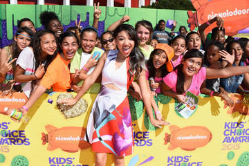 Gabrielle Elyse Nickelodeon's 28th Annual Kids' Choice Awards - Red Carpet