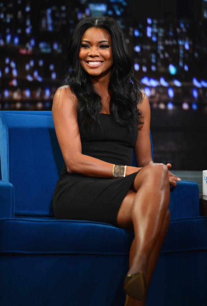 Gabrielle Union visits 'Late Night With Jimmy Fallon at Rockefeller Center on January 7, 2014 in New York City.