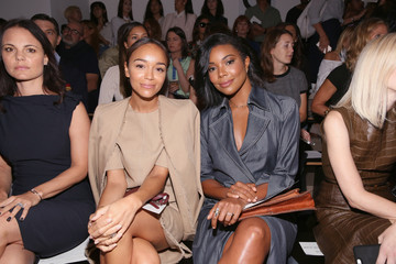 Gabrielle Union Wade Wes Gordon - Front Row - Spring 2016 MADE Fashion Week