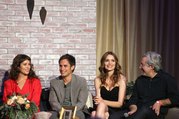 Gael Garcia Bernal Lola Kirke 'Mozart In The Jungle' Emmy FYC Screening Event At The Roosevelt Hotel In Hollywood