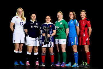 Gaelle Mignot RBS Six Nations Launch
