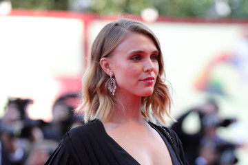 Gaia Weiss 'First Man' Premiere, Opening Ceremony And Lifetime Achievement Award To Vanessa Redgrave Red Carpet Arrivals - 75th Venice Film Festival