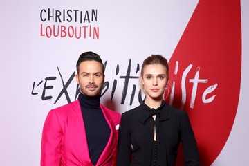 Gaia Weiss Christian Louboutin Presents During - Paris Fashion Week Womenswear Fall/Winter 2020/2021 - Exhibition Opening 'L'Exhibition[niste]'