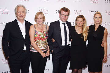Gail Egan Actors Pose at the 'A Little Chaos' New York Premiere
