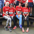 Gail Porter Celebrities Take Part In The Shelter: Vertical Rush