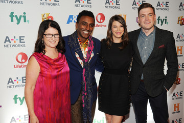 Gail Simmons Max Silvestri Arrivals at A+E Networks Upfront