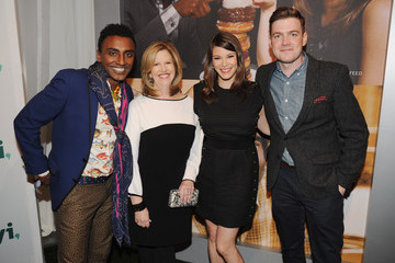 Gail Simmons Max Silvestri Inside the 2014 A+E Networks Upfront