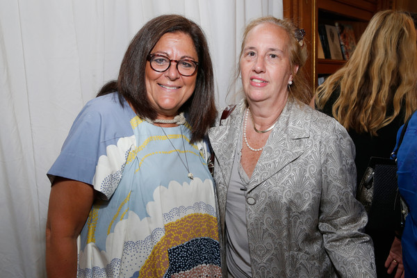 Guests Arrive at the Rizzoli Bookstore Preview Party