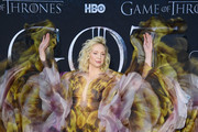 "Gwendoline Christie attends the ""Game Of Thrones"" Season 8 Premiere on April 03, 2019 in New York City."