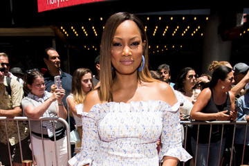 Garcelle Beauvais Los Angeles Premiere Of Warner Bros. Animations' 'Teen Titans Go! To The Movies' - Red Carpet