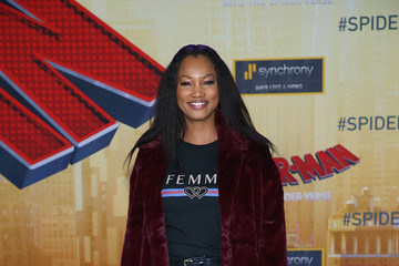 Garcelle Beauvais World Premiere Of Sony Pictures Animation And Marvel's 'Spider-Man: Into The Spider-Verse' - Arrivals