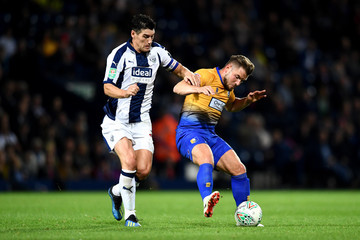 Gareth Barry West Bromwich Albion vs. Mansfield Town - Carabao Cup Second Round