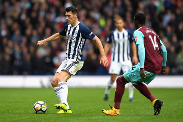 Gareth Barry West Bromwich Albion v West Ham United - Premier League