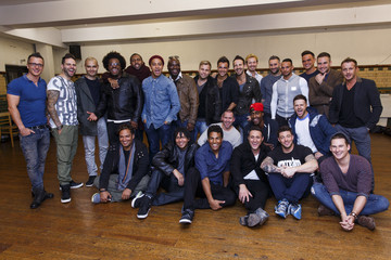 Gareth Gates Big Reunion Boy Band Tour Photo Call