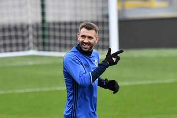 Gareth Mcauley Northern Ireland Training Session