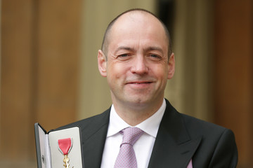Gareth Neame Investitures At Buckingham Palace