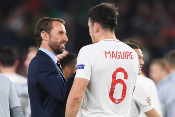 Gareth Southgate Spain vs. England - UEFA Nations League A