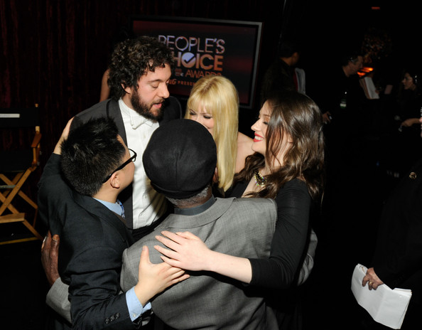 2012 People's Choice Awards - Backstage And Audience