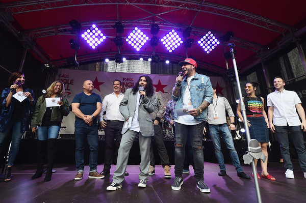 iHeartRadio's Z100 Jingle Ball Official Kick-Off Event At Macy's Herald Square On October 9, 2018 In New York City