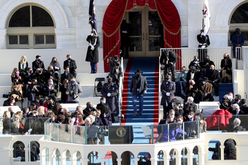 Garth Brooks Joe Biden Sworn In As 46th President Of The United States At U.S. Capitol Inauguration Ceremony