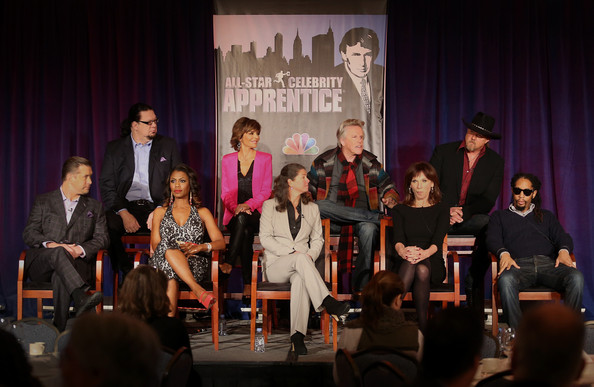 2013 Winter TCA Tour - Day 3 [celebrity apprentice,event,performance,youth,fashion,talent show,stage,competition,convention,performing arts,heater,page feldman,gary busey,penn jillette,lisa rinna,stephen baldwin,omarosa manigault,top l-r,bottom l-r,winter tca]