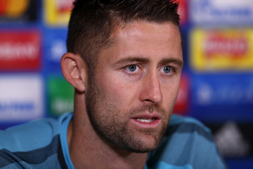 Gary Cahill Chelsea Training & Press Conference
