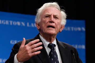 Gary Hart Georgetown Law Hosts Political Discussion