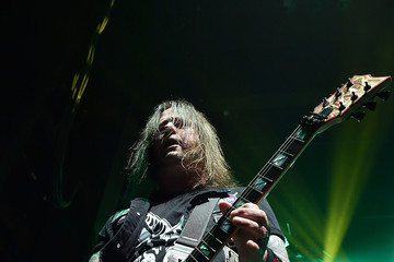 Gary Holt Slayer With Lamb of God and Behemoth in Concert - New York, New York