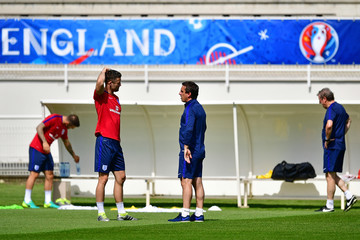 Gary Neville England Training Session - UEFA Euro 2016