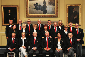 Gary Player Arnold Palmer World Golf Hall of Fame Induction