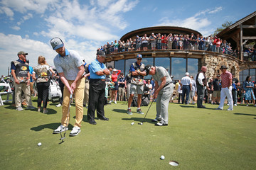 Gary Player Lee Trevino Bass Pro Shops Legends Of Golf - Round Two