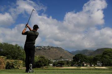 Gary Woodland Sony Open in Hawaii - Round One
