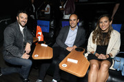 "(L-R) Filmmaker Michael Zimbalist, Landon Donovan and Melissa Ortiz attend the Gatorade premiere of the docu-series, ""Cantera 5v5"" during the Tribeca TV Festival on Saturday, September 14, 2019 in New York City."