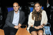 "(L-R) Landon Donovan and Melissa Ortiz attend the Gatorade premiere of the docu-series, ""Cantera 5v5"" during the Tribeca TV Festival on Saturday, September 14, 2019 in New York City."
