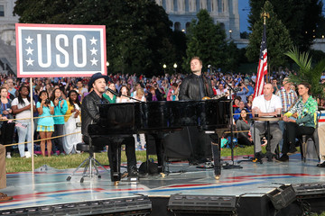 Gavin Degraw A Capitol Fourth - Rehearsals