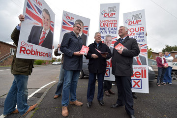 Gavin Robinson Peter Robinson Completes Campaigning For the DUP
