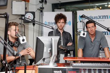 Zack Filkins Gavin Rossdale, Sublime, One Republic, The Kooks, Estelle & Tila Tequila Visit SiriusXM