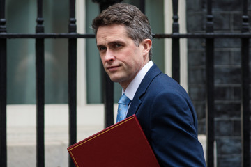 Gavin Williamson Theresa May Chairs A Meeting Of The National Security Council